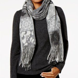 Charter Club Patchwork Floral Tile Wrap & Scarf